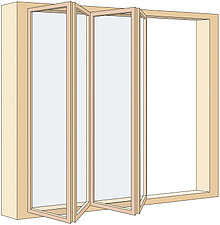 Illustration casement windows - 80012-270-1