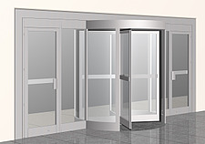 Illustration swing door - 80012-310-1