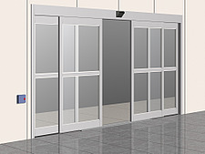 Illustration automatic door - 80012-320-1