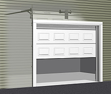 Illustration sectional garage door - 80012-350-1