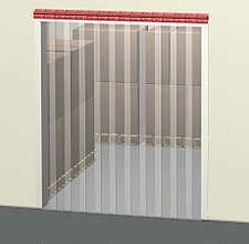 Illustration pvc strip door - 80012-360-1