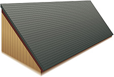 Illustration pent roof - 80012-80-1