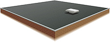 Illustration flat roof - 80012-90-1