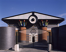 Storm Water Pumping Station, Isle of Dogs, London, 1985-88 - 557-10-1