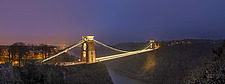 The Clifton Suspension Bridge, spanning the Avon Gorge, a Grade I listed structure has attracted visitors from all over the world designed by Isambard... - 13011-10-1