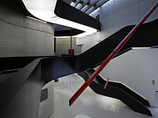 Main atrium and exhibition space at the MAXXI, National Museum of 21st Century Arts, Rome - 12857-240-1