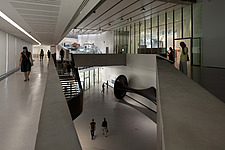 Interior exhibition space at the MAXXI, National Museum of 21st Century Arts, Rome - 12857-320-1