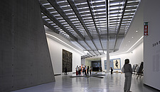 Interior exhibition space at the MAXXI, National Museum of 21st Century Arts, Rome - 12857-340-1