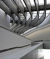 Architectural forms at the MAXXI, National Museum of 21st Century Arts, Rome - 12857-410-1