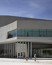 Cantilever elevation at the MAXXI, National Museum of 21st Century Arts, Rome - 12857-460-1