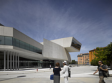 External view of the MAXXI, National Museum of 21st Century Arts, Rome - 12857-480-1