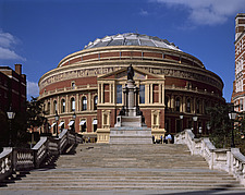 London Buildings, Royal Albert Hall with new South Porch, South Kensington, London - 11071-30-1