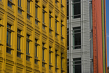 Colourful facade of an office building - 13160-130-1