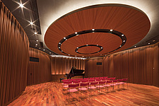 Yamaho Ginza, Store, concert hall, music studio, Interior of the salon on the 6th floor - 90033-80-1