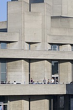National Theatre, London, Architects: Architects: Sir Denys Lasdun - 12482-320-1