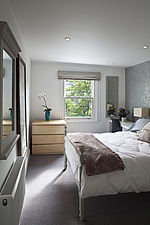 Highbury contemporary house conversion, double bed in bedroom,  - 13453-50-1