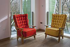 Chairs by Paul Smith at Maggie's Nottingham - 13630-160-1
