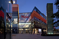 Entrance from Chestnut Plaza, Westfield Stratford City, Olympic Park, London, UK - 13715-20-1