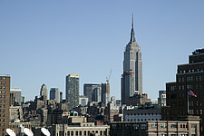 New York skyline with Empire State building, New York - 13732-150-1