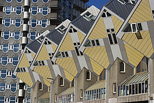 Cubic House or Kubuswoningen, designed by Piet Blom, Rotterdam, Netherlands - 13829-60-1