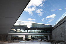The floating bridges of the Danish Maritime Museum inside the dock at Helsingor, Denmark, by BIG Architects - 15094-50-1