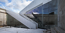 The floating bridges of the Danish Maritime Museum inside the dock at Helsingor, Denmark, by BIG Architects - 15094-80-1