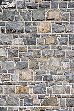 Materials ; Rusticated stone wall with crisp mortar - 11732-550-1