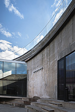 View from inside the dock at the Danish Maritime Museum, Helsingor, Denmark, by BIG Architects - 15094-110-1