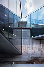 View from inside the dock at the Danish Maritime Museum, Helsingor, Denmark, by BIG Architects - 15094-140-1