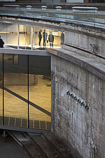 View of the Danish Maritime Museum inside the dry dock at Helsingor, Denmark, by BIG Architects - 15094-200-1