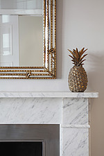 Detail of pineapple and mirror with lights on - 15956-370-1