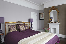 Master bedroom with matching pair of bedside tables and lamps - 15957-200-1