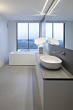 Interior view of a luxury duplex apartment in Tel Aviv, Israel - 16037-380-1