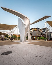 Expo Gates at the Expo 2015 Milano Italy by architects Daniel Libeskind - 16080-410-1