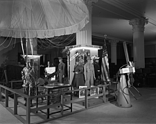 Parachute in Victory Center at Marshall Field and Company, 1943 Dec - 70886-30-1