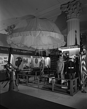 Parachute in Victory Center at Marshall Field and Company, 1943 Dec - 70886-40-1