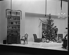 Christmas windows at Marshall Field and Company, 1943 Dec - 70892-10-1