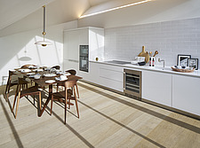Modern kitchen in penthouse flat, central London - 16281-10-1
