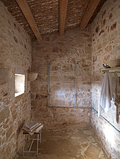 Interior view of a rustic bathroom - 16406-150-1