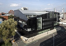 Exterior view of the National Graphene Institute, University of Manchester, UK - 16432-360-1