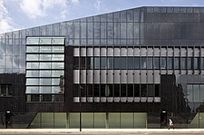 Exterior view of the National Graphene Institute, University of Manchester, UK - 16432-370-1