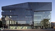 Exterior view of the National Graphene Institute, University of Manchester, UK - 16432-510-1