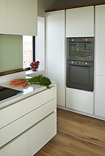 Minimal modern kitchen in an empty apartment - 16494-40-1