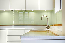 Minimal modern kitchen in an empty apartment - 16494-70-1