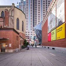 Exterior view of the Contemporary Jewish Museum in San Francisco USA by Daniel Libeskind architects - 16746-120-1