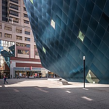 Exterior view of the Contemporary Jewish Museum in San Francisco USA by Daniel Libeskind architects - 16746-140-1