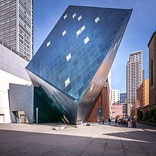 Exterior view of the Contemporary Jewish Museum in San Francisco USA by Daniel Libeskind architects - 16746-150-1
