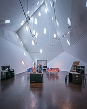 Interior view of the Contemporary Jewish Museum in San Francisco USA by Daniel Libeskind architects - 16746-50-1