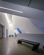 Interior view of the Contemporary Jewish Museum in San Francisco USA by Daniel Libeskind architects - 16746-70-1