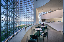 Interior view of JFK Presidential Library and Museum in Boston  - 16798-150